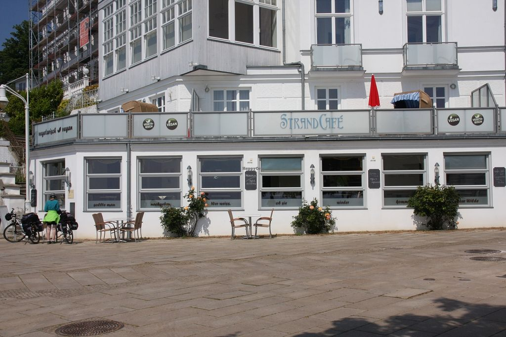 """Photo of StrandCafe Sassnitz  by <a href=""""/members/profile/StrandhotelSassnitz"""">StrandhotelSassnitz</a> <br/>Beach café of Sassnitz!       Directly on the Baltic Sea:   <br/> September 6, 2015  - <a href='/contact/abuse/image/62999/116527'>Report</a>"""