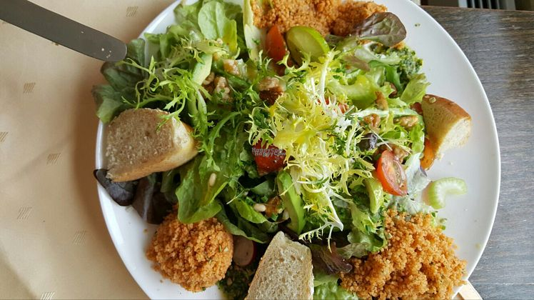 """Photo of StrandCafe Sassnitz  by <a href=""""/members/profile/AnnaAnnaAnnaAnna"""">AnnaAnnaAnnaAnna</a> <br/>salad <br/> October 27, 2016  - <a href='/contact/abuse/image/62999/184689'>Report</a>"""