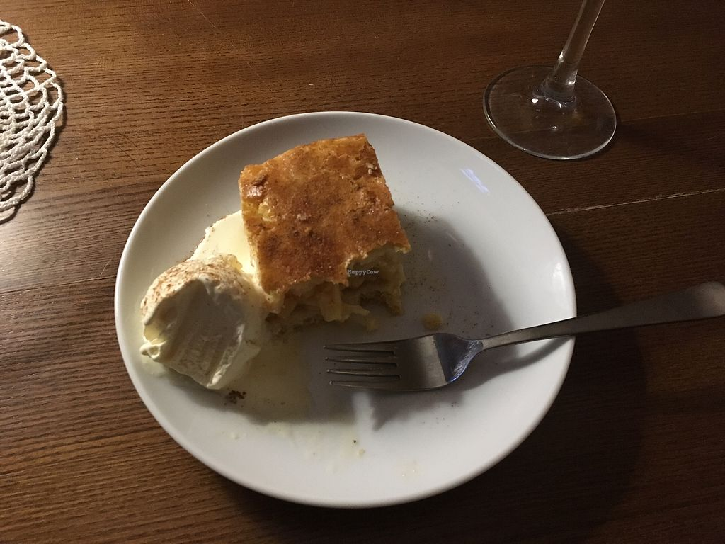 """Photo of Retro  by <a href=""""/members/profile/LenkaVomelov%C3%A1"""">LenkaVomelová</a> <br/>szarlotka apple pie with ice cream  <br/> June 27, 2017  - <a href='/contact/abuse/image/63024/273989'>Report</a>"""