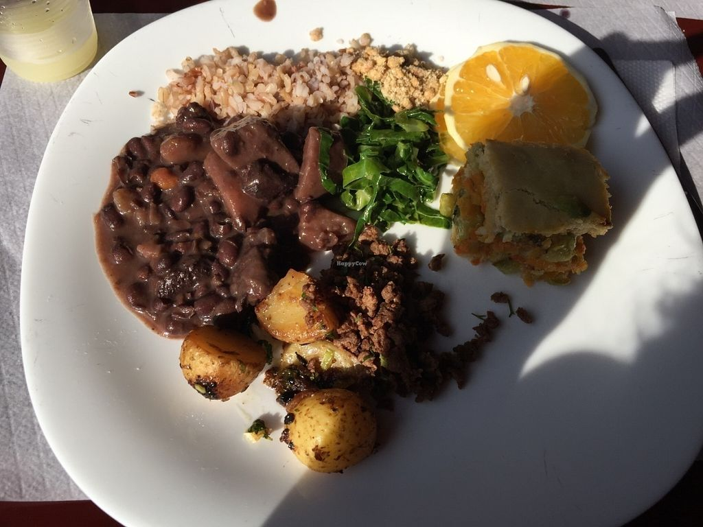 """Photo of Flor de Liz  by <a href=""""/members/profile/Paolla"""">Paolla</a> <br/>Some of the vegan options from the buffet <br/> July 31, 2016  - <a href='/contact/abuse/image/63067/163912'>Report</a>"""