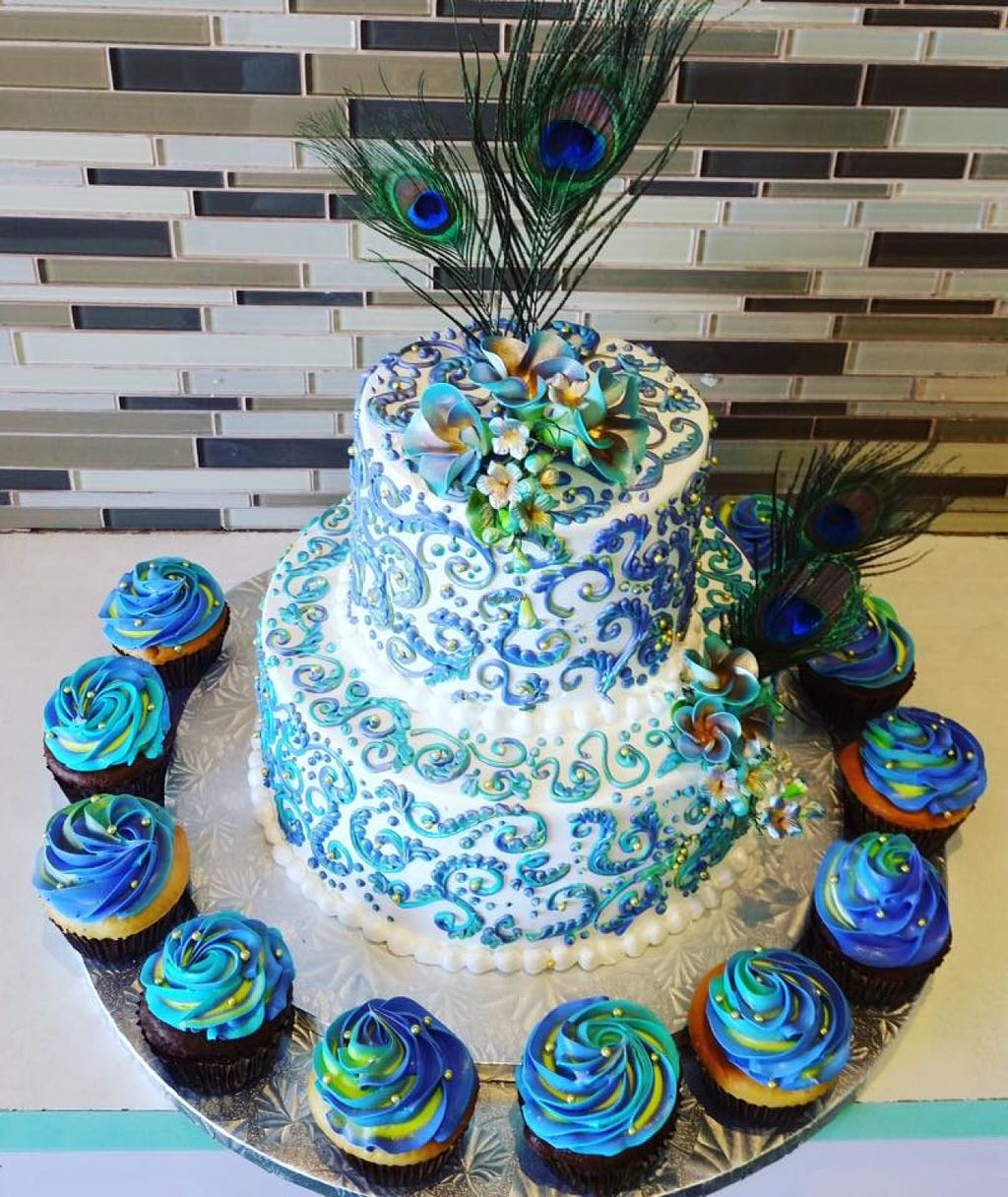 "Photo of Rashmi's Bakery  by <a href=""/members/profile/community"">community</a> <br/>peacock cake <br/> June 2, 2016  - <a href='/contact/abuse/image/63084/151952'>Report</a>"