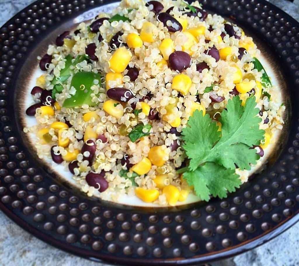 "Photo of Nature's Plate  by <a href=""/members/profile/community"">community</a> <br/>Quinoa & Black Bean Salad  <br/> May 3, 2016  - <a href='/contact/abuse/image/63094/227555'>Report</a>"