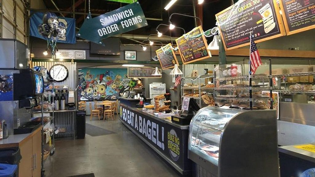 """Photo of Blazing Bagels  by <a href=""""/members/profile/community"""">community</a> <br/>inside Blazing Bagels <br/> February 15, 2017  - <a href='/contact/abuse/image/63110/226983'>Report</a>"""