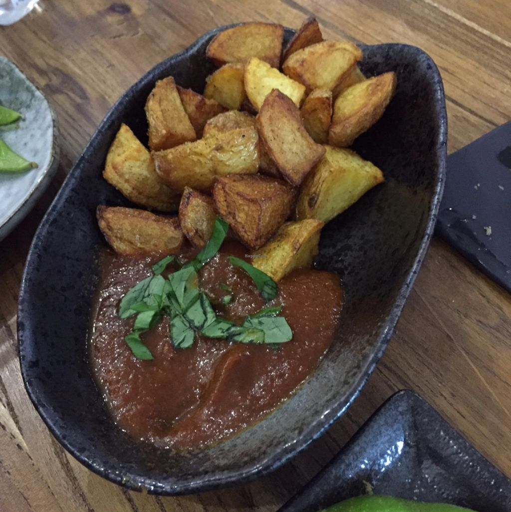 """Photo of Casa Tapas - maybe closed  by <a href=""""/members/profile/tanyafr"""">tanyafr</a> <br/>potatas bravas <br/> June 19, 2016  - <a href='/contact/abuse/image/63114/154809'>Report</a>"""