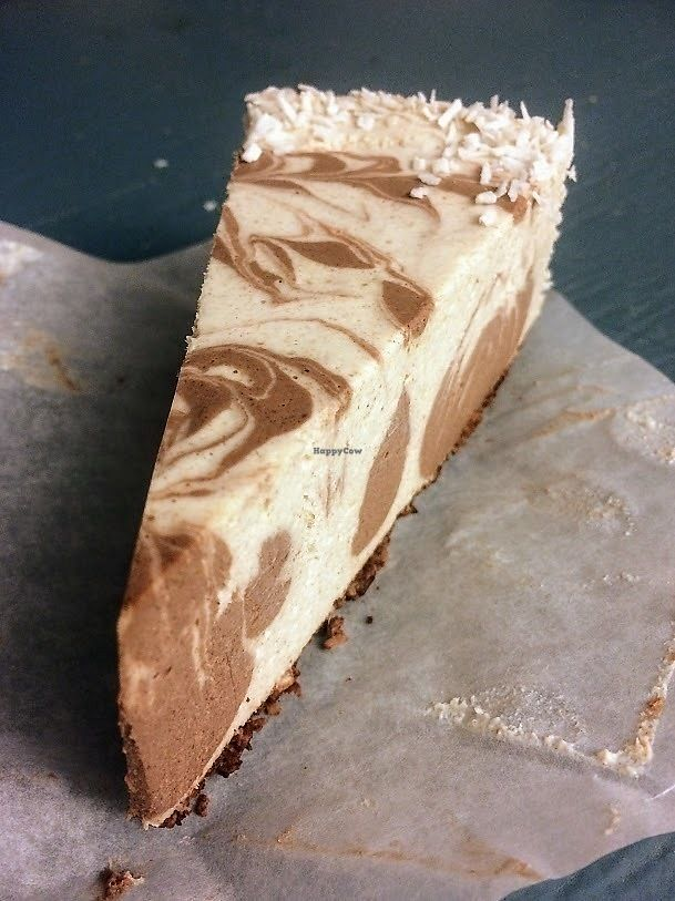 """Photo of Cafe Gratitude  by <a href=""""/members/profile/fullbellyhappyheart"""">fullbellyhappyheart</a> <br/>Coconut Cream Pie. It was heavier than I thought,  <br/> June 20, 2017  - <a href='/contact/abuse/image/63145/271199'>Report</a>"""