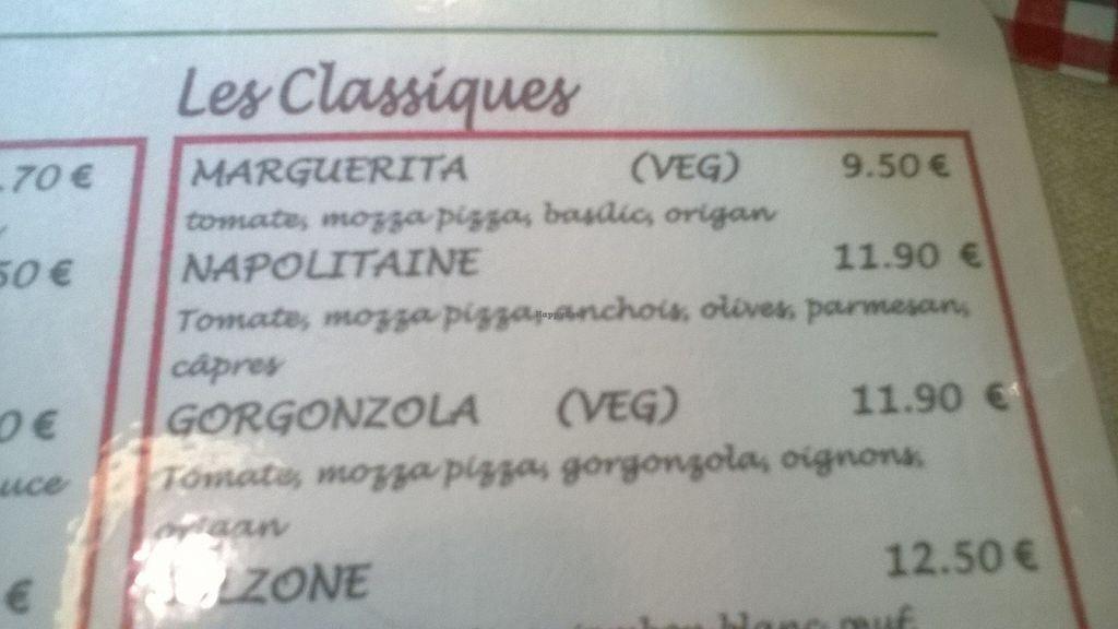 "Photo of O Chato  by <a href=""/members/profile/Sylvane"">Sylvane</a> <br/>pizzas végétariennes à partir de 9.50€ <br/> July 20, 2016  - <a href='/contact/abuse/image/63158/161117'>Report</a>"