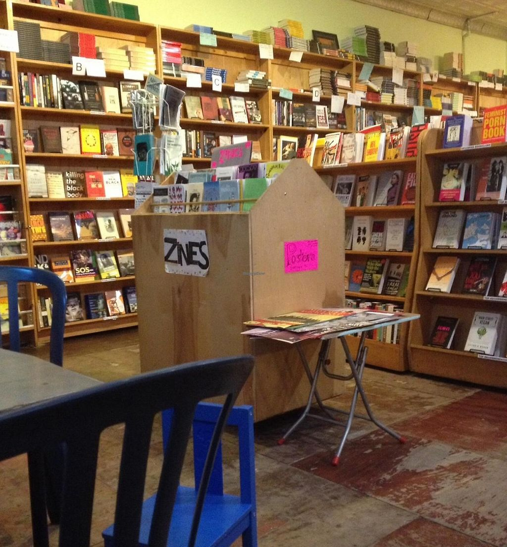 "Photo of Bluestockings  by <a href=""/members/profile/Oscar%20M"">Oscar M</a> <br/>One of my favourite book stores in NYC.