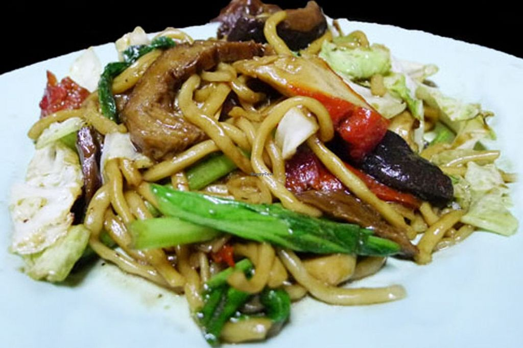 """Photo of Veggie J  by <a href=""""/members/profile/Sapanhan.J"""">Sapanhan.J</a> <br/>Stir-Fried Noodle with Vegetable and Soybean  <br/> September 9, 2015  - <a href='/contact/abuse/image/63178/117163'>Report</a>"""