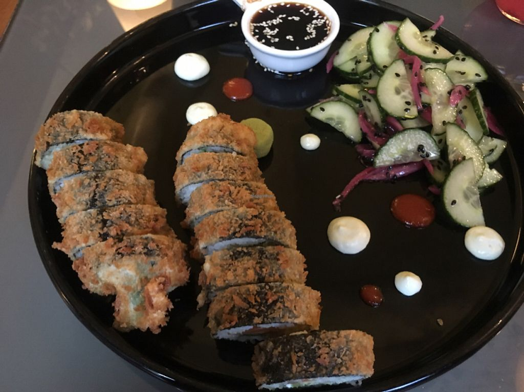 """Photo of Etnosvet  by <a href=""""/members/profile/Jess13"""">Jess13</a> <br/>fried vegan sushi  <br/> May 21, 2017  - <a href='/contact/abuse/image/63181/261115'>Report</a>"""