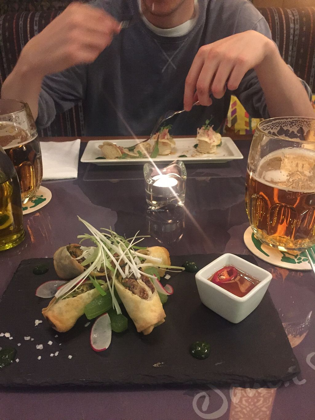 """Photo of Etnosvet  by <a href=""""/members/profile/OliviaFloyd"""">OliviaFloyd</a> <br/>Mock duck spring rolls <br/> April 13, 2018  - <a href='/contact/abuse/image/63181/385009'>Report</a>"""