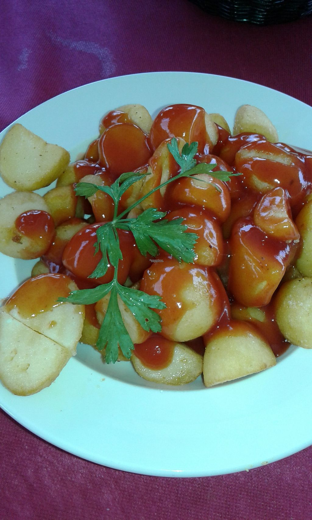 """Photo of Svarog  by <a href=""""/members/profile/Senora53"""">Senora53</a> <br/>Patatas Bravas home made and fresh very good price and delicios big ration <br/> October 8, 2016  - <a href='/contact/abuse/image/63185/180647'>Report</a>"""