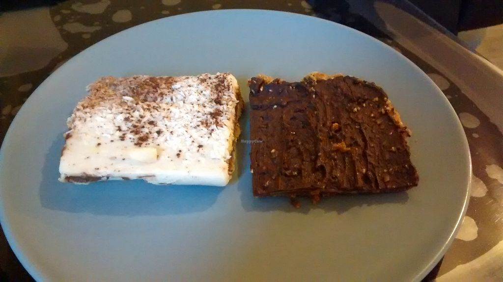 """Photo of CLOSED: Veg Mama Food Truck  by <a href=""""/members/profile/JonJon"""">JonJon</a> <br/>Vegan chocolate cake and speculoos with chocolate <br/> November 4, 2015  - <a href='/contact/abuse/image/63187/123807'>Report</a>"""