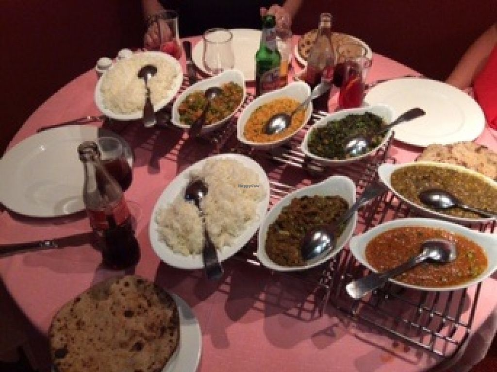 "Photo of The Rajpoute  by <a href=""/members/profile/AndreaD"">AndreaD</a> <br/>A truly excellent vegan meal <br/> September 9, 2015  - <a href='/contact/abuse/image/63201/117182'>Report</a>"