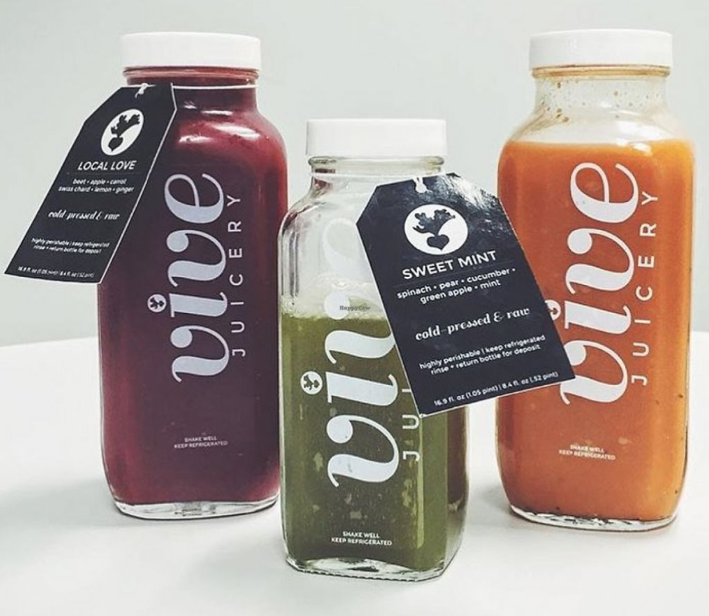 "Photo of Vive Juicery  by <a href=""/members/profile/community"">community</a> <br/>fresh pressed juices  <br/> September 26, 2015  - <a href='/contact/abuse/image/63206/230586'>Report</a>"