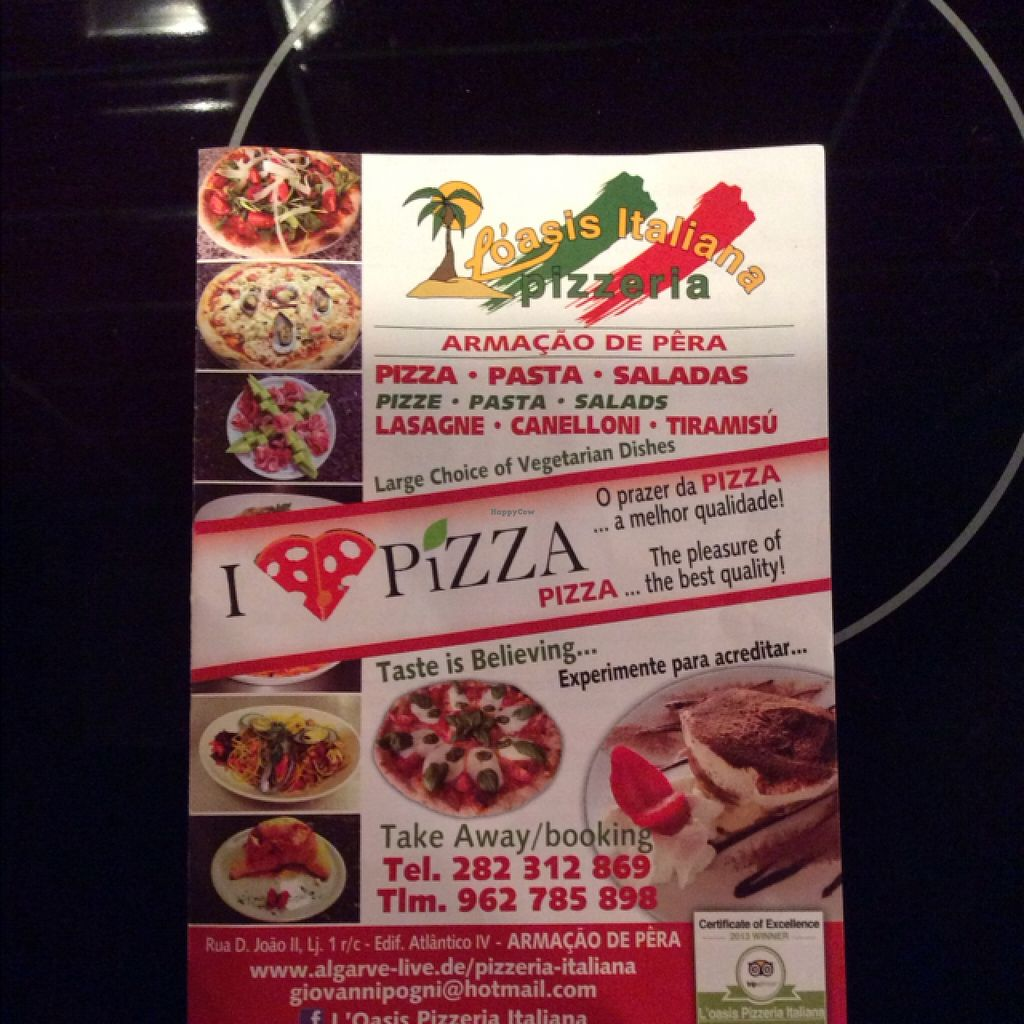 """Photo of L'Oasis Italiana  by <a href=""""/members/profile/hack_man"""">hack_man</a> <br/>Flyer <br/> September 10, 2015  - <a href='/contact/abuse/image/63207/117283'>Report</a>"""