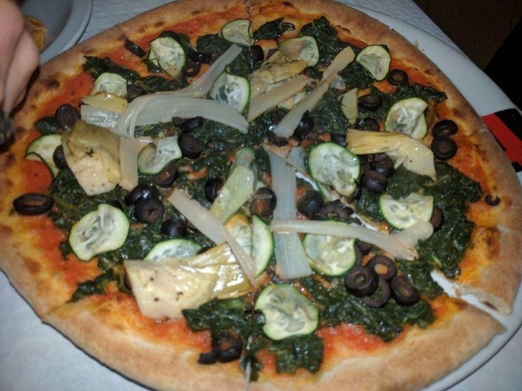 "Photo of L'Oasis Italiana  by <a href=""/members/profile/YohanaGenova"">YohanaGenova</a> <br/>veg pizza with no mozzarella  <br/> February 8, 2017  - <a href='/contact/abuse/image/63207/224412'>Report</a>"