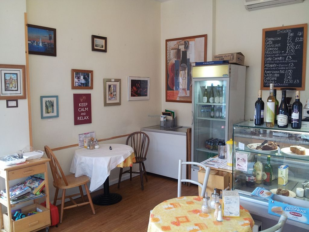 """Photo of Il Picchio Cafe  by <a href=""""/members/profile/totallyclips"""">totallyclips</a> <br/>Inside our Cafe <br/> September 27, 2015  - <a href='/contact/abuse/image/63215/119293'>Report</a>"""