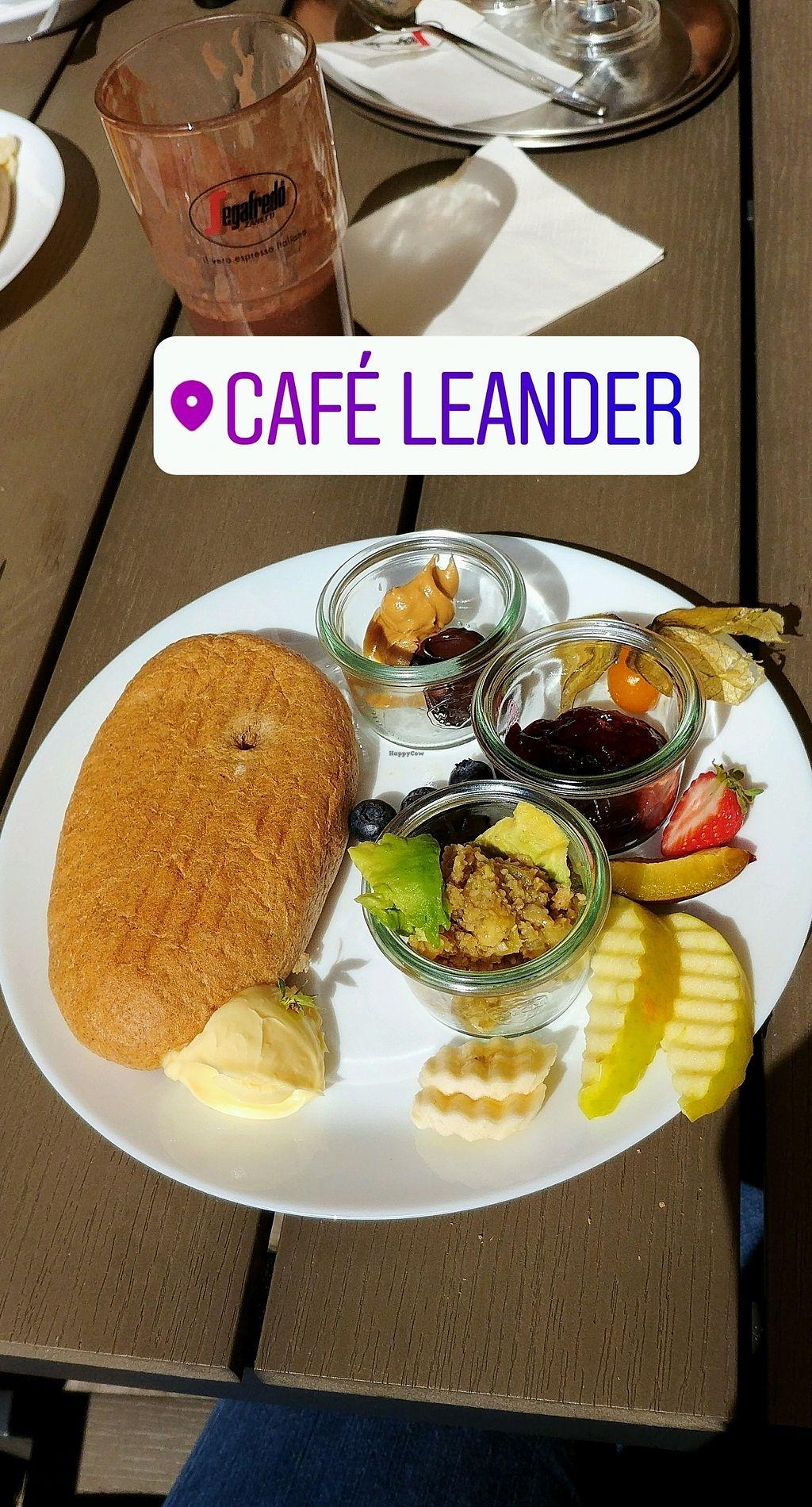 "Photo of Cafe Leander  by <a href=""/members/profile/JanaRu"">JanaRu</a> <br/>vegan breakfast <br/> August 25, 2017  - <a href='/contact/abuse/image/63221/297044'>Report</a>"