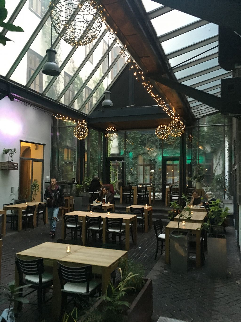 """Photo of TIAN Bistro am Spittelberg  by <a href=""""/members/profile/LilyHarper"""">LilyHarper</a> <br/>Indoor seating <br/> September 6, 2017  - <a href='/contact/abuse/image/63223/301512'>Report</a>"""