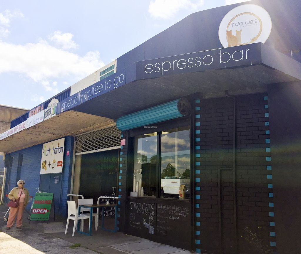 "Photo of Two Cats Espresso Bar  by <a href=""/members/profile/karlaess"">karlaess</a> <br/>Exterior <br/> November 15, 2015  - <a href='/contact/abuse/image/63229/125044'>Report</a>"