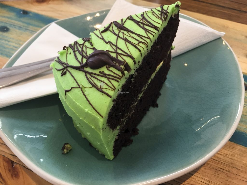 "Photo of Two Cats Espresso Bar  by <a href=""/members/profile/karlaess"">karlaess</a> <br/>Chocolate Peppermint Vegan Cake <br/> November 28, 2015  - <a href='/contact/abuse/image/63229/126361'>Report</a>"