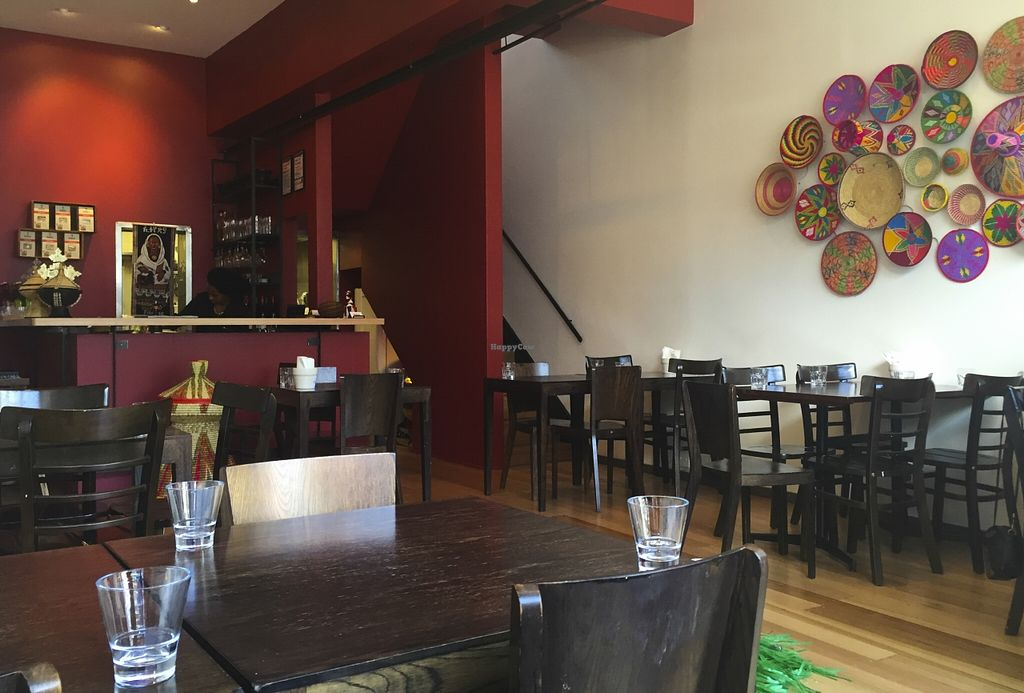 "Photo of Saba's Ethiopian Restaurant   by <a href=""/members/profile/karlaess"">karlaess</a> <br/>Interior <br/> October 11, 2015  - <a href='/contact/abuse/image/63230/120949'>Report</a>"
