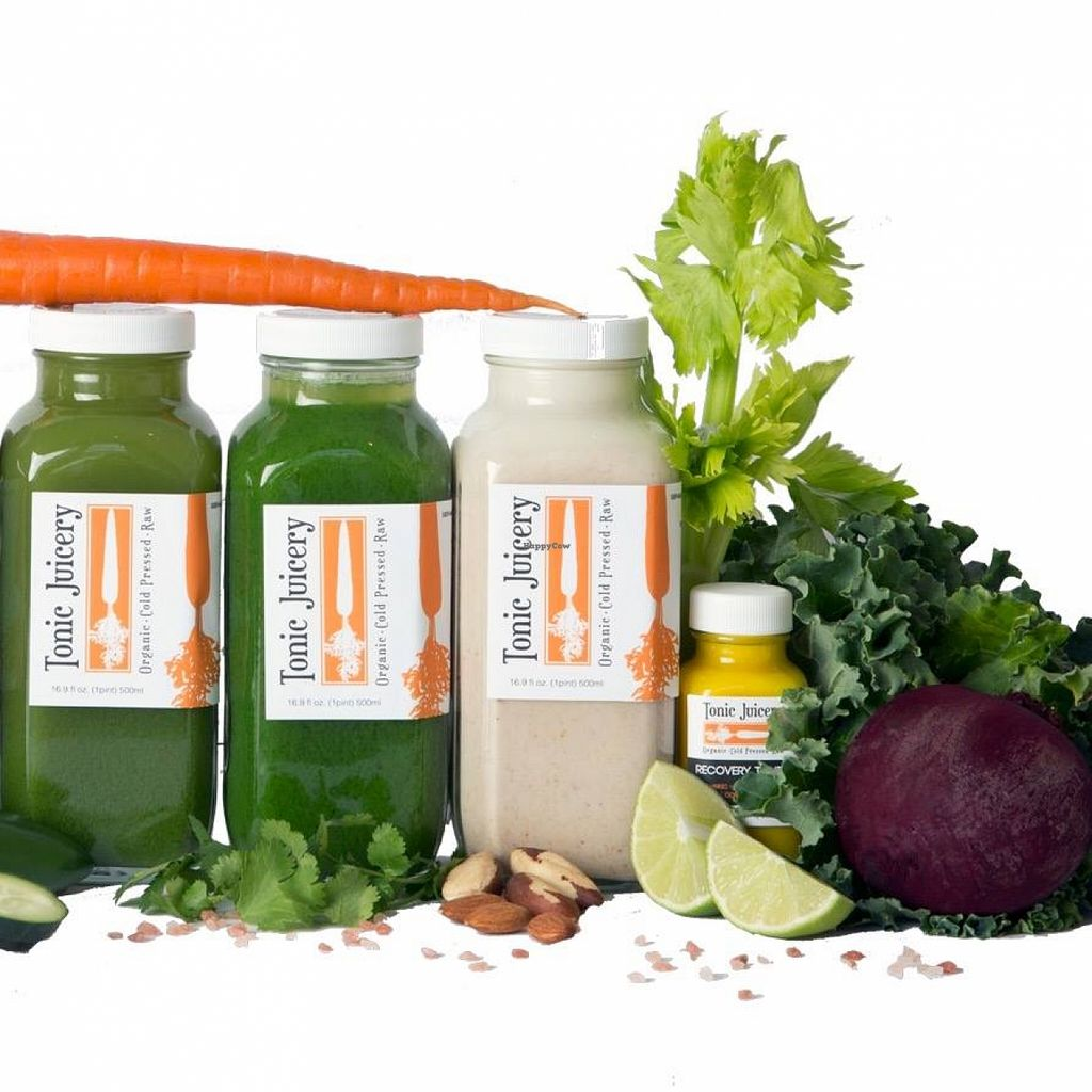 "Photo of Tonic Juicery  by <a href=""/members/profile/community"">community</a> <br/>green juices <br/> April 24, 2016  - <a href='/contact/abuse/image/63268/146108'>Report</a>"