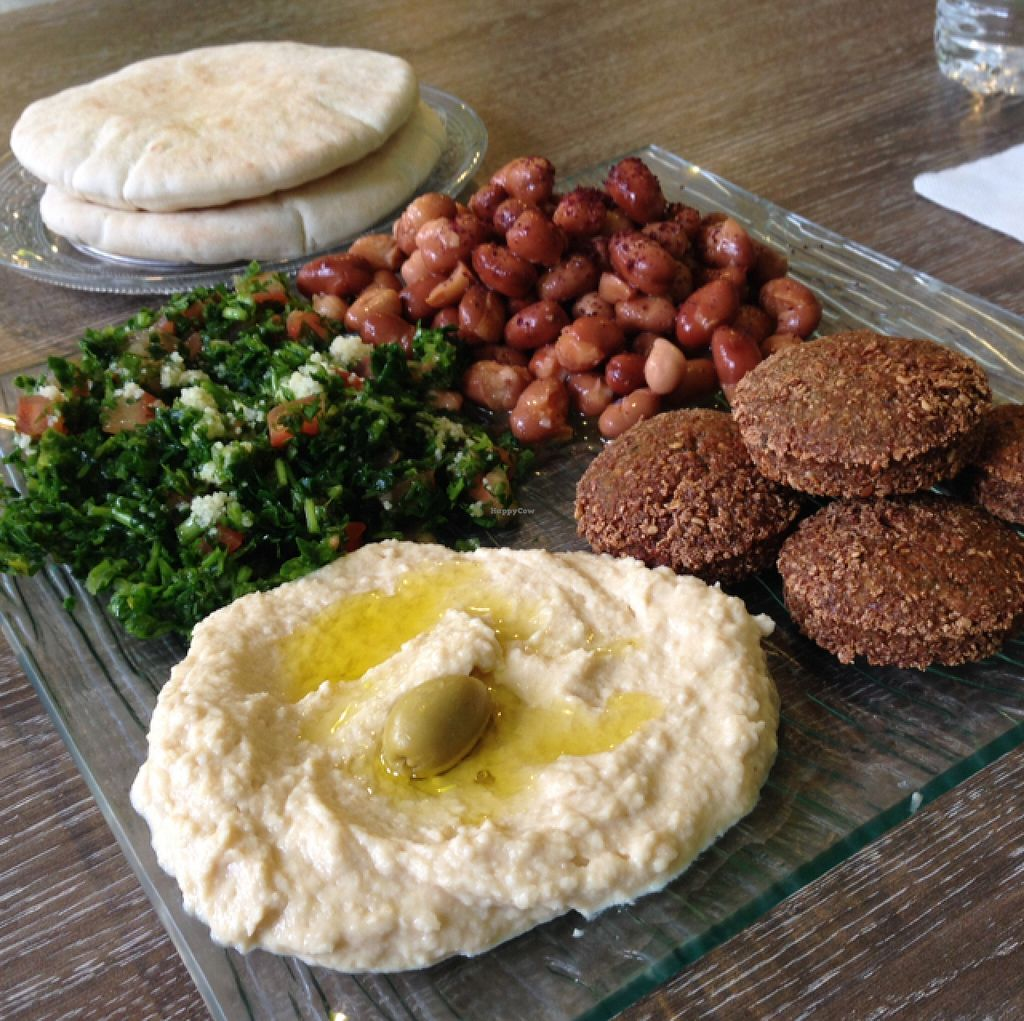 "Photo of So Falafel  by <a href=""/members/profile/NatashaHell"">NatashaHell</a> <br/>our Falafels & sides <br/> February 6, 2016  - <a href='/contact/abuse/image/63274/135271'>Report</a>"