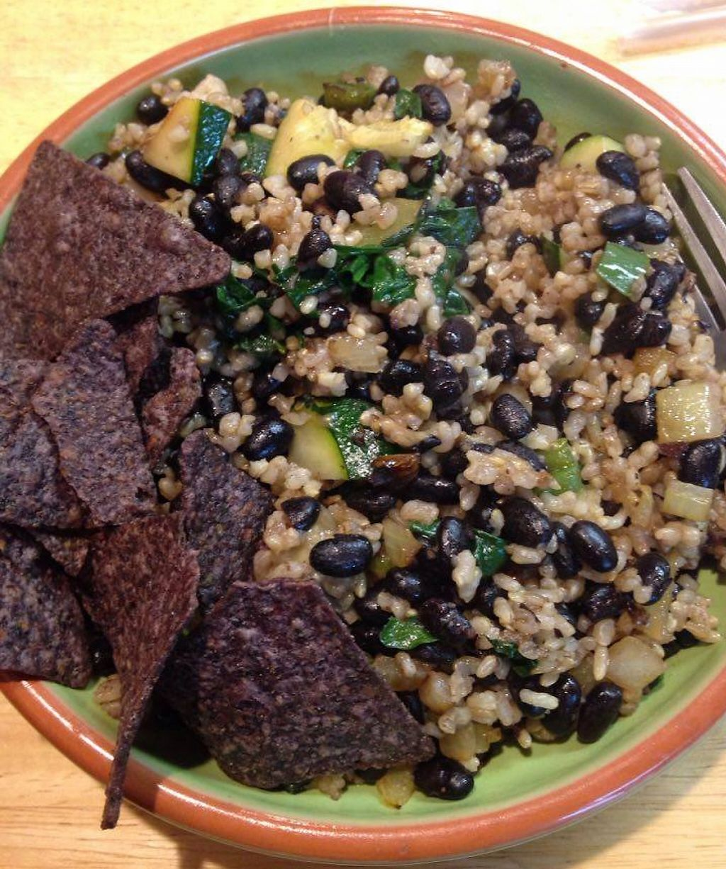 "Photo of Healthy on Lark  by <a href=""/members/profile/salitrov"">salitrov</a> <br/>Bean and rice bowl! <br/> March 12, 2016  - <a href='/contact/abuse/image/63280/209322'>Report</a>"