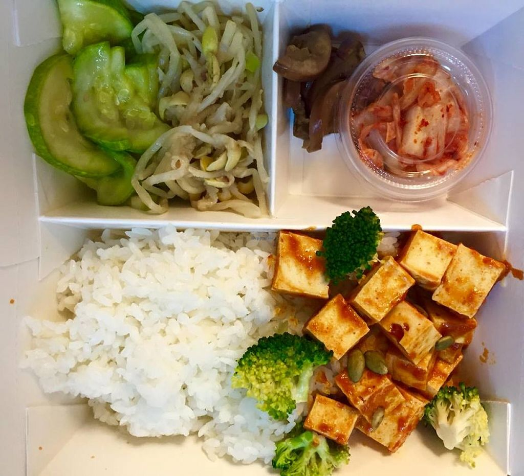 """Photo of Dosirak House in Tung Chung  by <a href=""""/members/profile/Stevie"""">Stevie</a> <br/>Sweet chilli tofu <br/> September 13, 2015  - <a href='/contact/abuse/image/63301/117541'>Report</a>"""