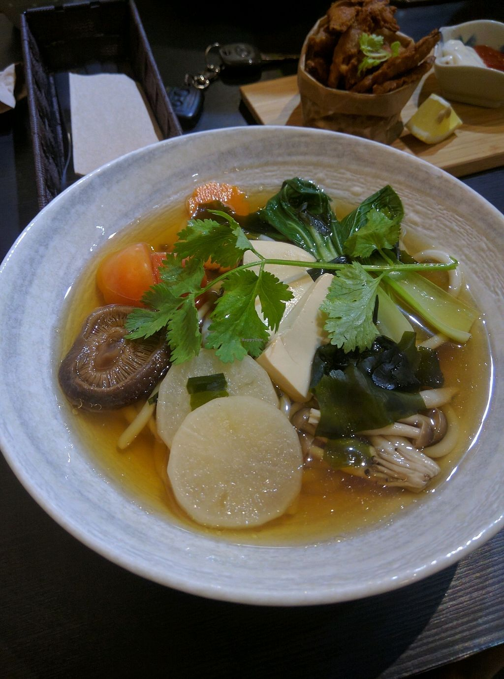 "Photo of Yi Ke Shu - Bayan Lepas  by <a href=""/members/profile/Summer_Tan"">Summer_Tan</a> <br/>Vegan Japanese Udon Noodle Soup - RM14.90 It's ok, light and clean broth, but nothing special <br/> January 29, 2018  - <a href='/contact/abuse/image/63320/352149'>Report</a>"