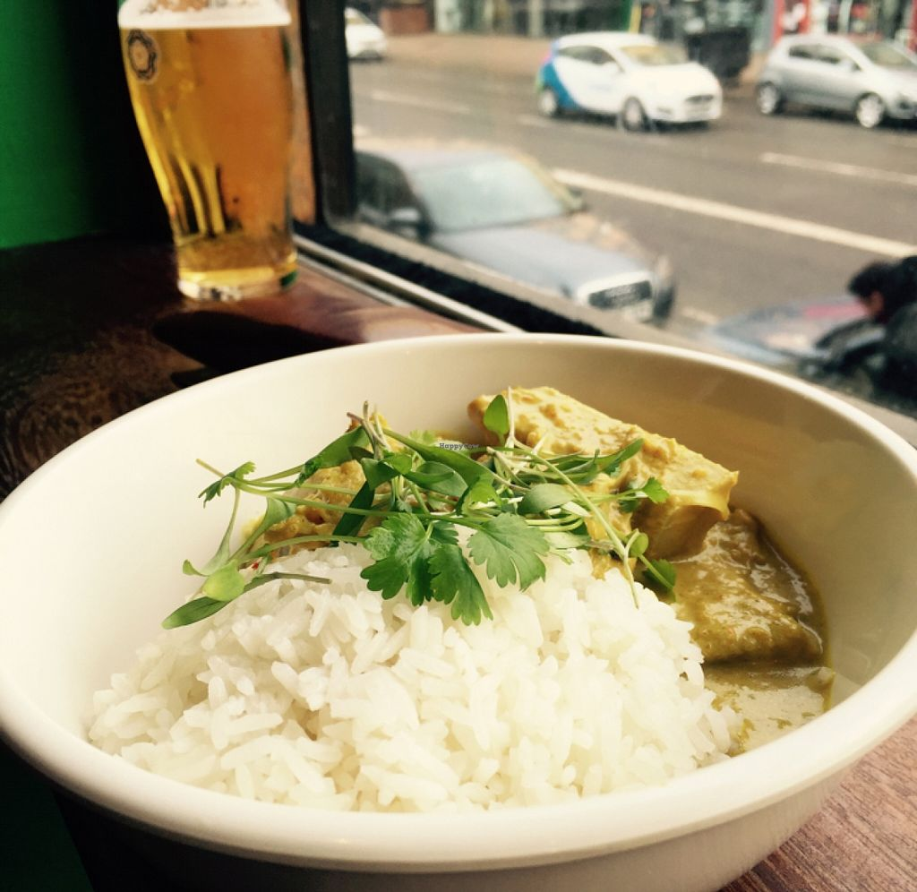 """Photo of The Hug and Pint  by <a href=""""/members/profile/I_love_pears"""">I_love_pears</a> <br/>jackfruit curry <br/> March 29, 2016  - <a href='/contact/abuse/image/63341/141780'>Report</a>"""