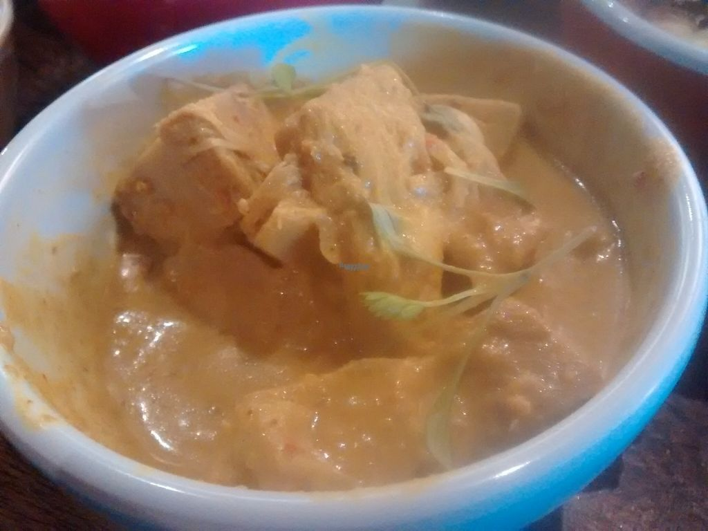 """Photo of The Hug and Pint  by <a href=""""/members/profile/TrixieFirecracker"""">TrixieFirecracker</a> <br/>Jackfruit curry <br/> November 6, 2016  - <a href='/contact/abuse/image/63341/186987'>Report</a>"""