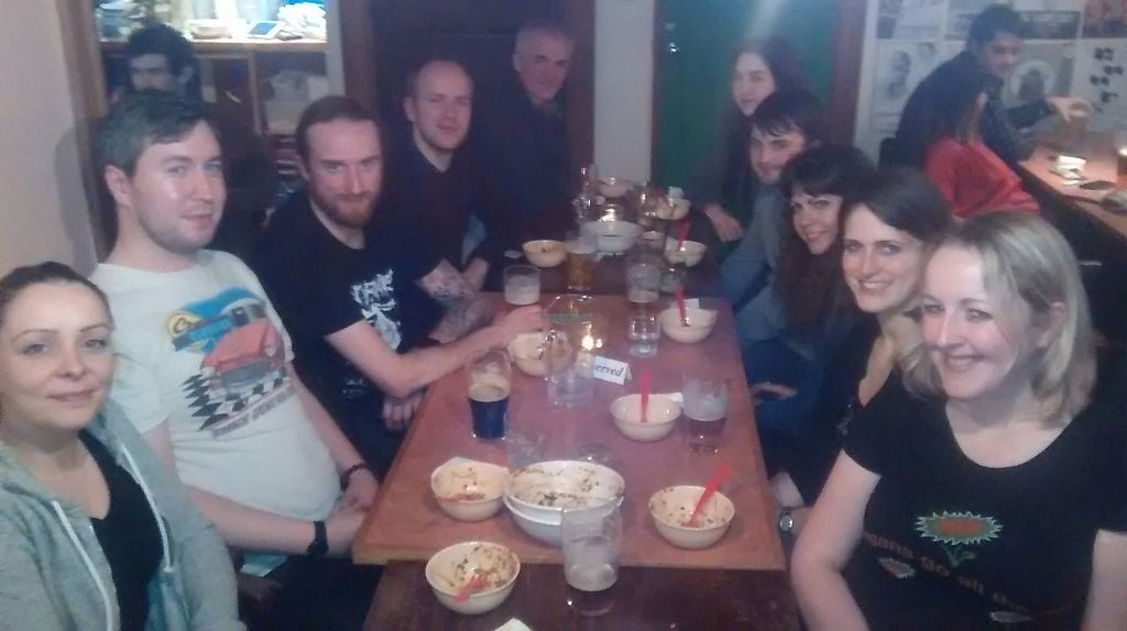 """Photo of The Hug and Pint  by <a href=""""/members/profile/TrixieFirecracker"""">TrixieFirecracker</a> <br/>Group dinner with Vegan Events Scotland Meetup group <br/> March 20, 2017  - <a href='/contact/abuse/image/63341/238934'>Report</a>"""