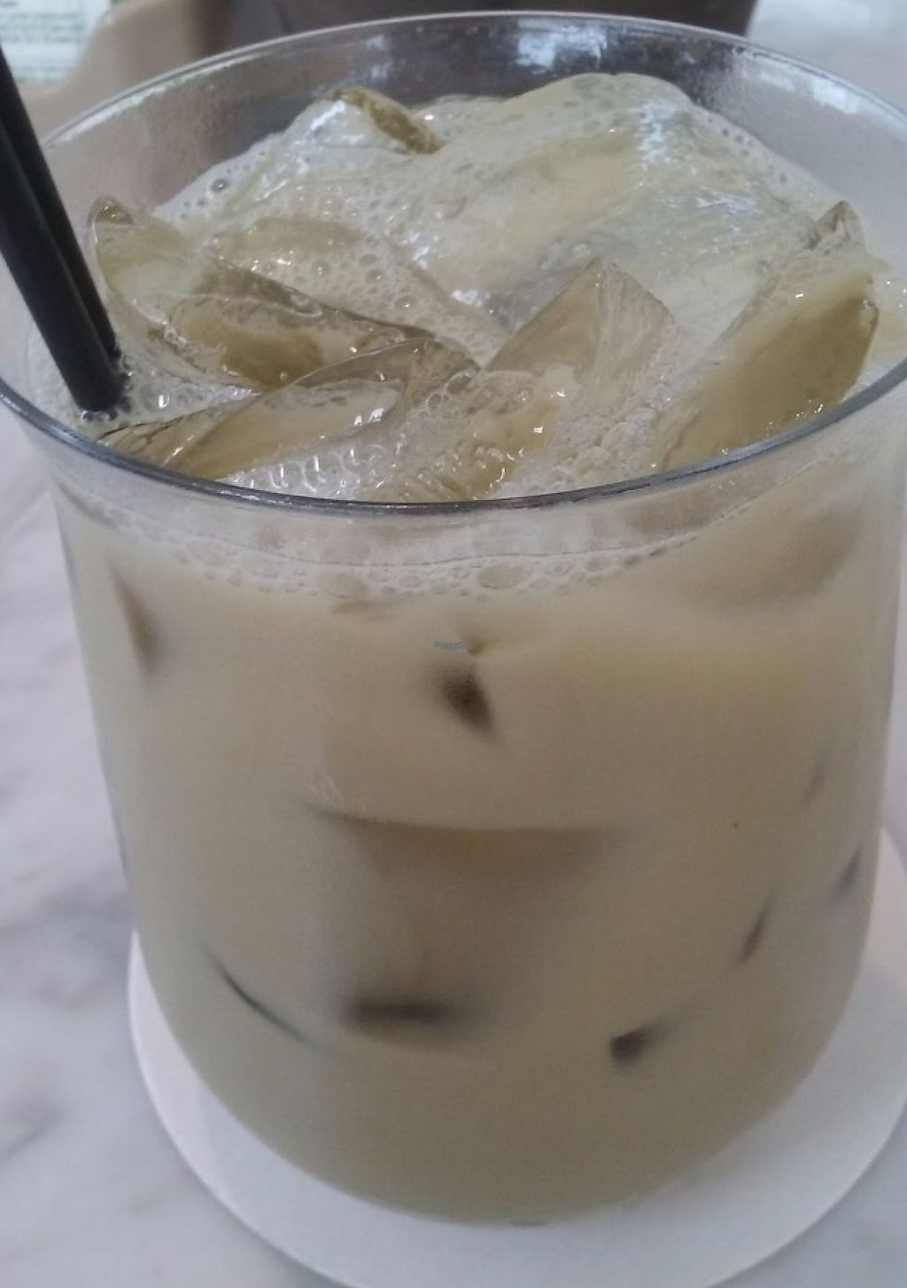 """Photo of True Food Kitchen  by <a href=""""/members/profile/veggie_htx"""">veggie_htx</a> <br/>Almond milk matcha horchata (vegan as-is).  <br/> August 12, 2016  - <a href='/contact/abuse/image/63398/229093'>Report</a>"""