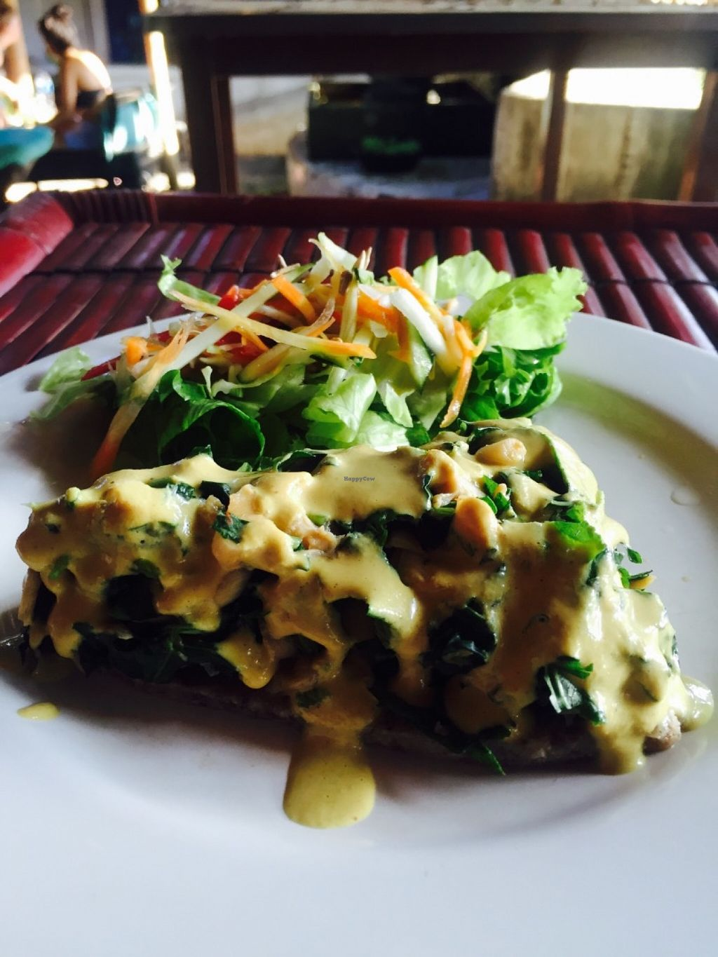 """Photo of Alkaline Restaurant  by <a href=""""/members/profile/rodgo"""">rodgo</a> <br/>Raw Spinach cake  <br/> July 2, 2016  - <a href='/contact/abuse/image/63426/157289'>Report</a>"""