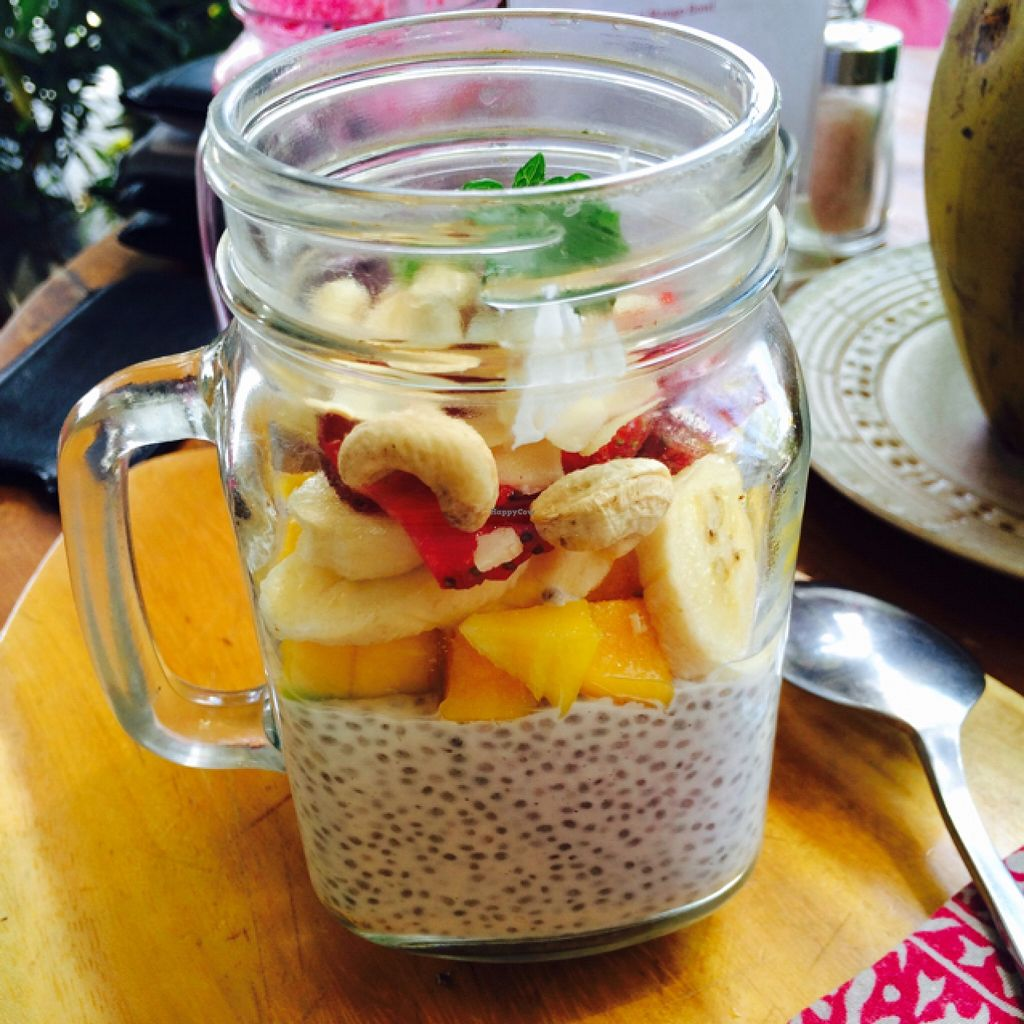 """Photo of Motion Cafe  by <a href=""""/members/profile/DaniM"""">DaniM</a> <br/>Chia pudding <br/> September 16, 2015  - <a href='/contact/abuse/image/63427/117992'>Report</a>"""