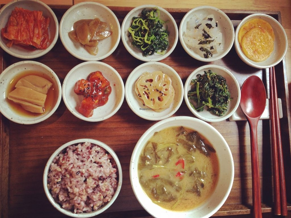 """Photo of CLOSED: Insarang - 인사랑  by <a href=""""/members/profile/Food1e"""">Food1e</a> <br/>Traditional Korean lunch - simply delicious! <br/> April 3, 2016  - <a href='/contact/abuse/image/63431/142555'>Report</a>"""