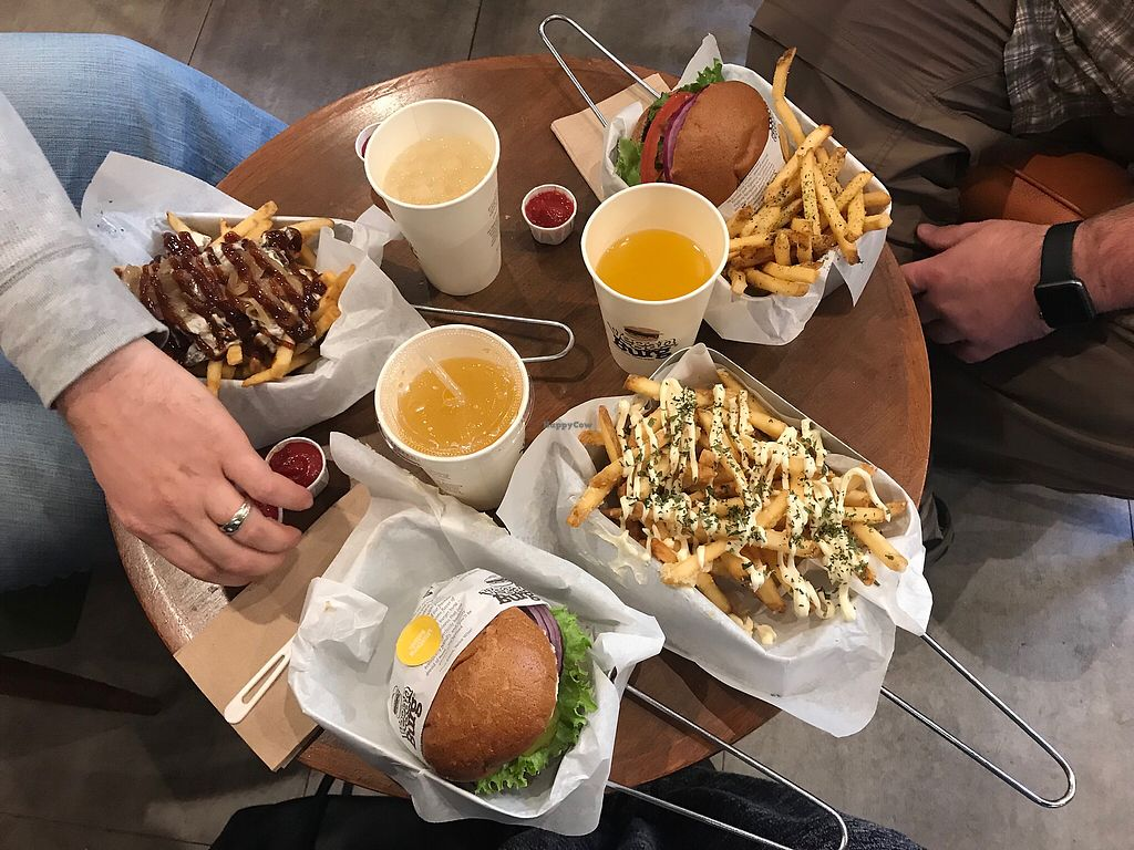 """Photo of VeganBurg  by <a href=""""/members/profile/SecretVeganGirl"""">SecretVeganGirl</a> <br/>November 2017 Burger Eats.  <br/> November 13, 2017  - <a href='/contact/abuse/image/63460/324970'>Report</a>"""