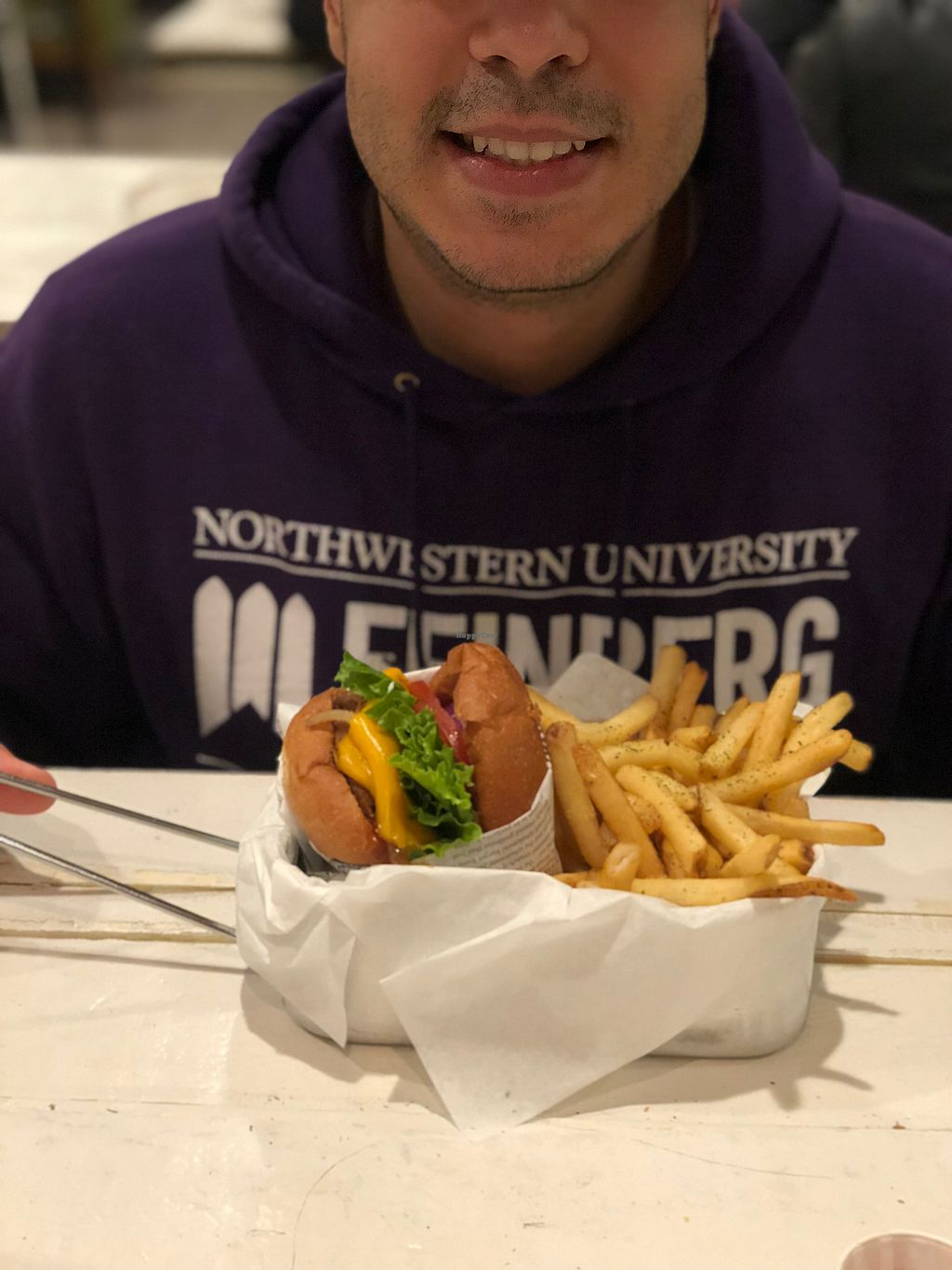 """Photo of VeganBurg  by <a href=""""/members/profile/BrittanyHowze"""">BrittanyHowze</a> <br/>Western bbq burger <br/> April 23, 2018  - <a href='/contact/abuse/image/63460/389679'>Report</a>"""