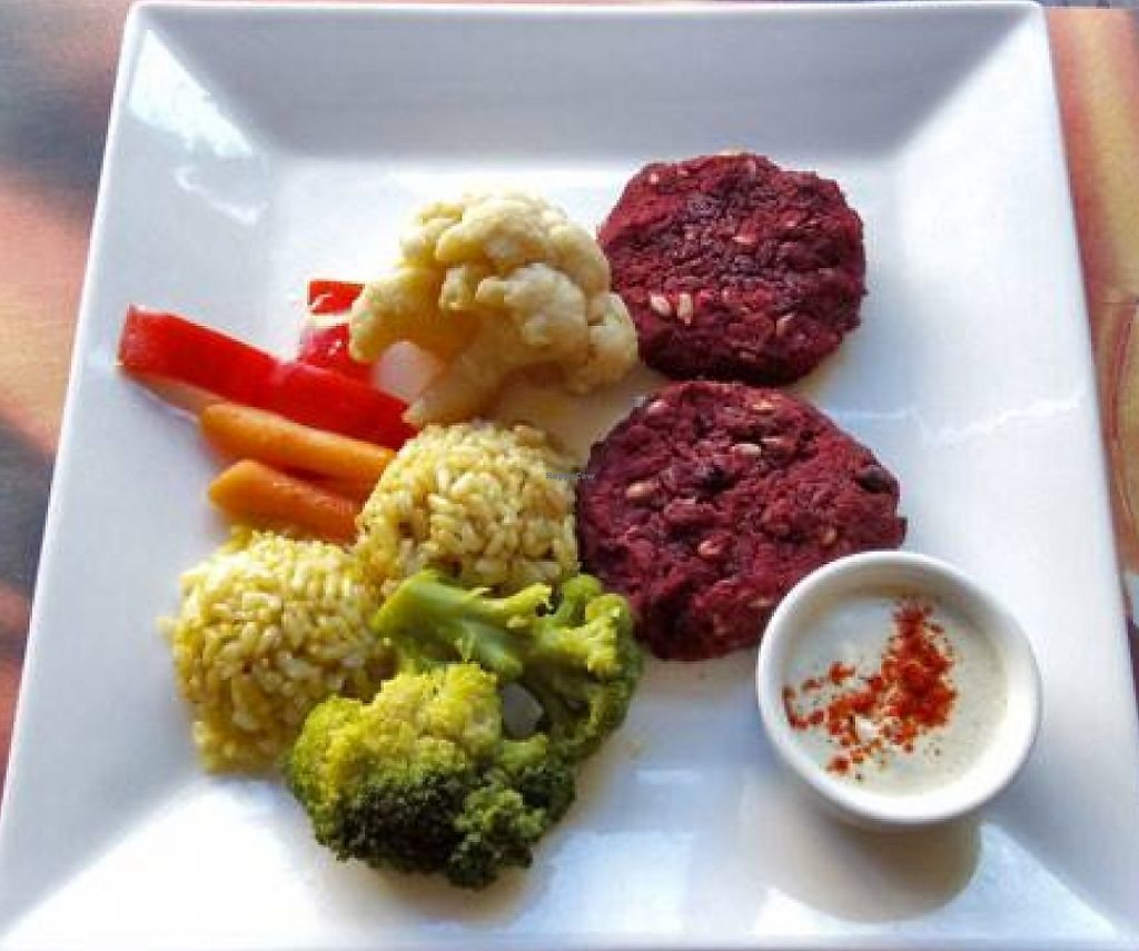 """Photo of Zlatna Krusha  by <a href=""""/members/profile/ira5"""">ira5</a> <br/>Vegan beatroot balls with vegetables <br/> September 17, 2015  - <a href='/contact/abuse/image/63462/235451'>Report</a>"""