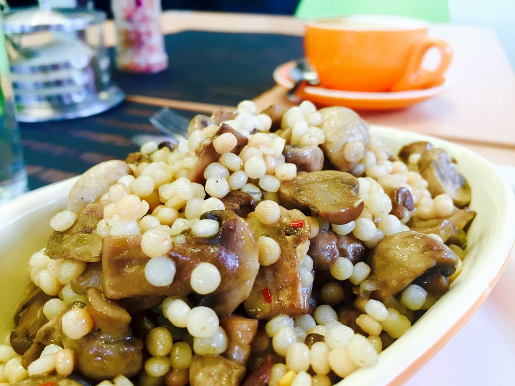 "Photo of CLOSED: Real Food in Tecoma  by <a href=""/members/profile/karlaess"">karlaess</a> <br/>Mushroom, garlic and chilli cous cous <br/> January 5, 2016  - <a href='/contact/abuse/image/63465/131111'>Report</a>"