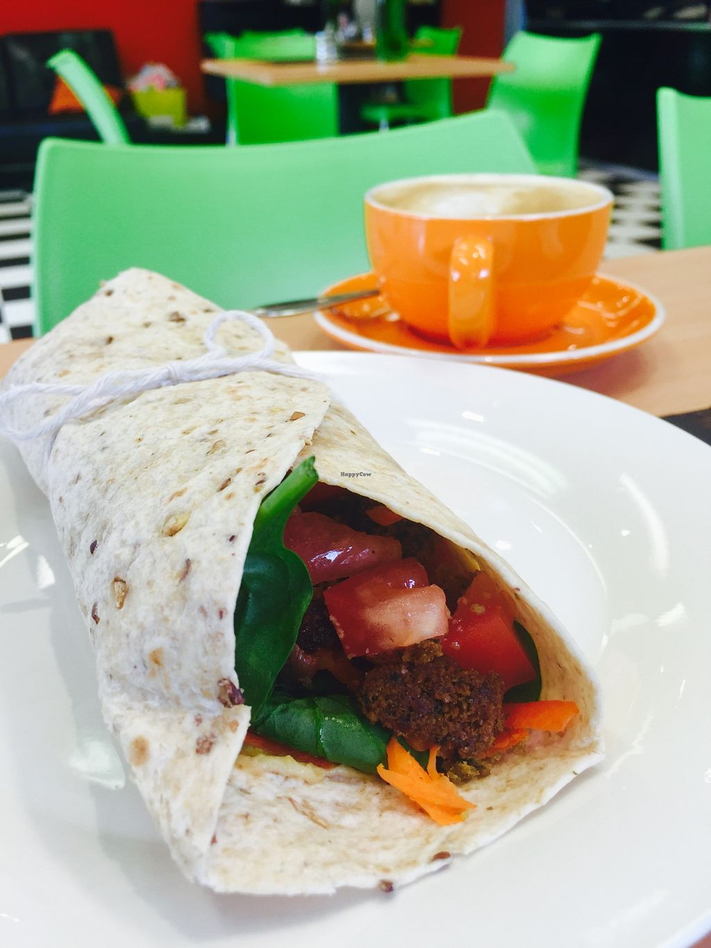 "Photo of CLOSED: Real Food in Tecoma  by <a href=""/members/profile/karlaess"">karlaess</a> <br/>Falafel wrap <br/> January 5, 2016  - <a href='/contact/abuse/image/63465/131112'>Report</a>"