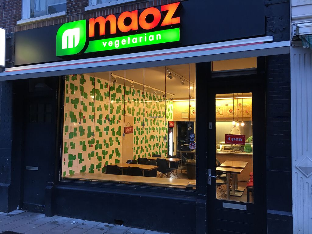 """Photo of Maoz Falafel - Albertcuypstraat  by <a href=""""/members/profile/hack_man"""">hack_man</a> <br/>Exterior  <br/> January 2, 2018  - <a href='/contact/abuse/image/63473/342098'>Report</a>"""
