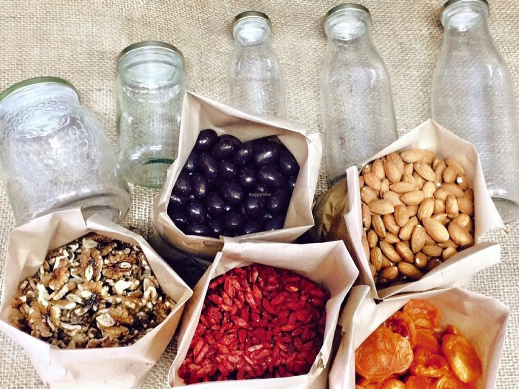 """Photo of Garden of Eden Organic & Health Foods  by <a href=""""/members/profile/Garden%20of%20Eden"""">Garden of Eden</a> <br/>Some of our beautiful goodies available in bulk! Buy as little or as much as you like. Put them in a brown bag or one of our beautiful jars, then when your jar is empty, bring it back and refill it! <br/> September 18, 2015  - <a href='/contact/abuse/image/63475/118306'>Report</a>"""