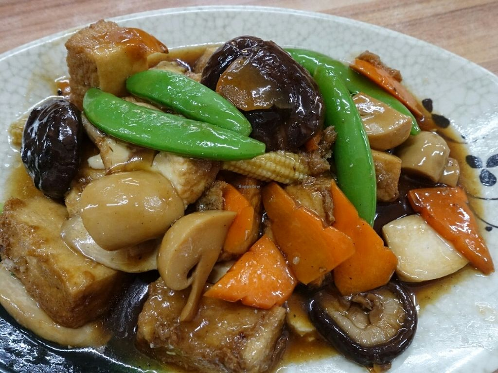 "Photo of Happy Realm  by <a href=""/members/profile/JimmySeah"">JimmySeah</a> <br/>stirred fried bean curd with mushrooms <br/> June 19, 2016  - <a href='/contact/abuse/image/63489/154793'>Report</a>"