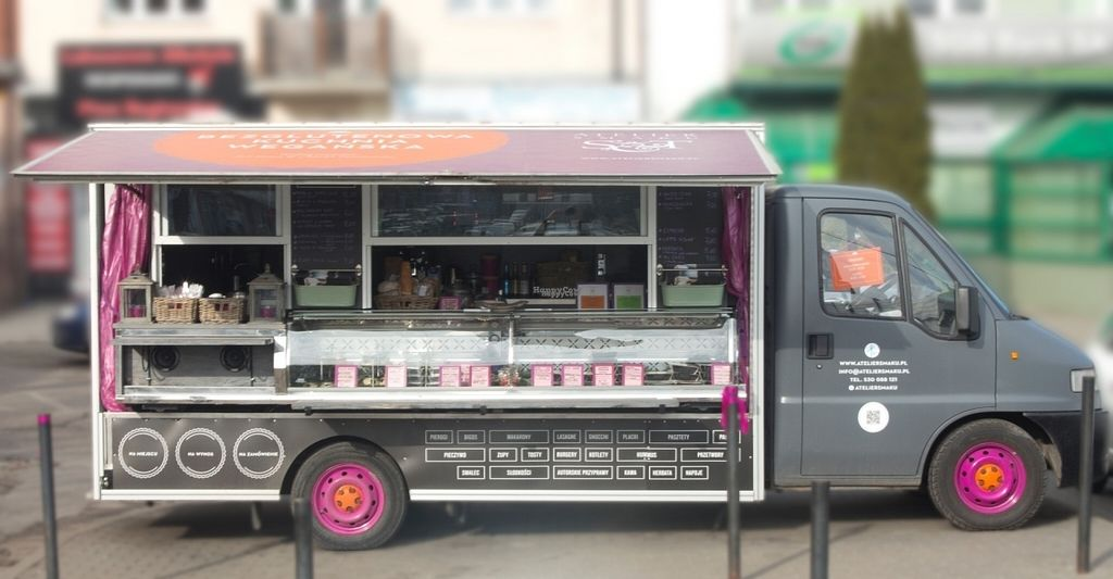 """Photo of Atelier Smaku - Food Truck  by <a href=""""/members/profile/MirekTrymbulak"""">MirekTrymbulak</a> <br/>The ATELIER SMAKU food truck is a small deli and a bar with gluten-free vegan cuisine. Here, you can purchase goods which come from our small production. All of them have been made with love for cooking and attention paid to their beneficial effect on health. We usually are stationed in Gdynia-Orłowo (on the Bytomska Street side) 2 minutes away from our Culinary Studio <br/> August 15, 2016  - <a href='/contact/abuse/image/63504/168931'>Report</a>"""