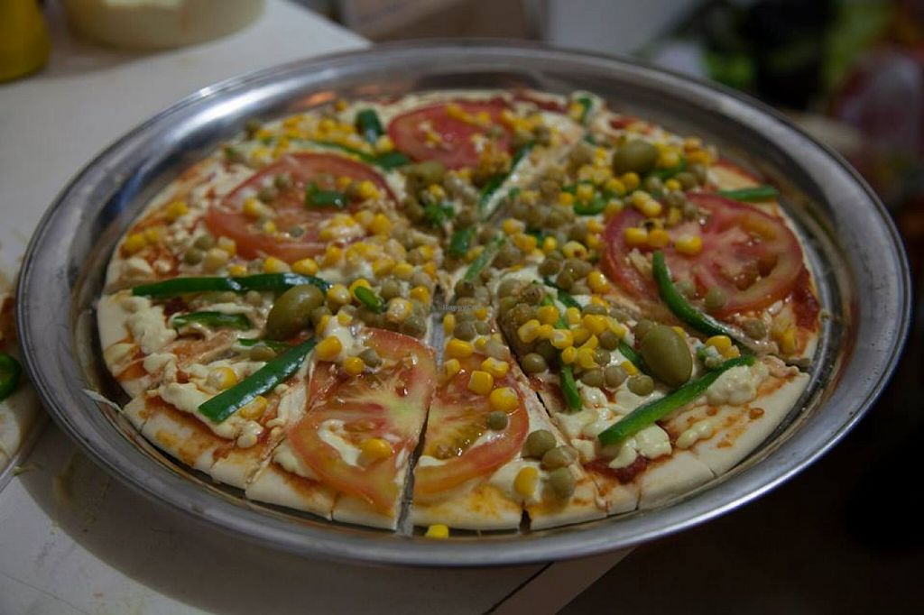 """Photo of Ninho Vegano  by <a href=""""/members/profile/community"""">community</a> <br/>vegan pizza <br/> September 25, 2015  - <a href='/contact/abuse/image/63520/119103'>Report</a>"""