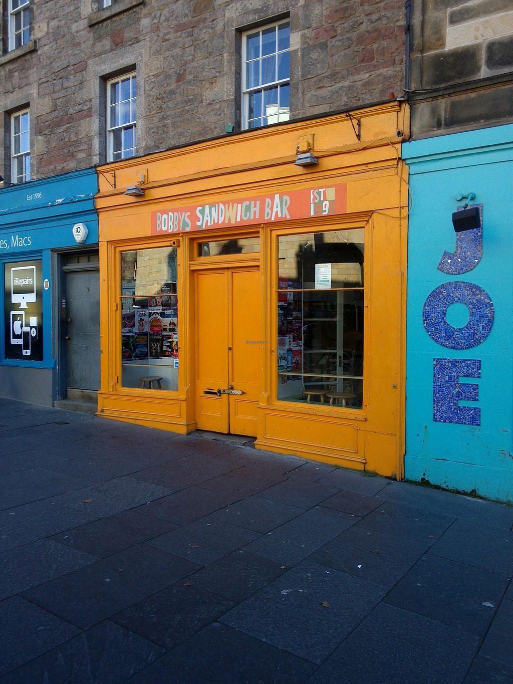 """Photo of Bobby's Sandwich Bar  by <a href=""""/members/profile/Ryecatcher"""">Ryecatcher</a> <br/>From outside <br/> September 17, 2015  - <a href='/contact/abuse/image/63522/118100'>Report</a>"""