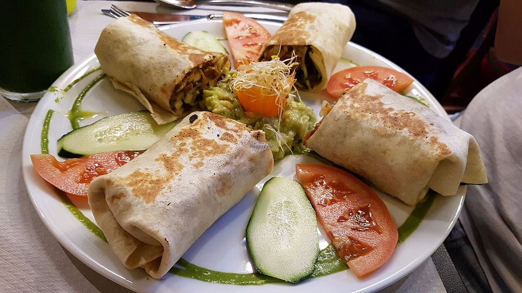 """Photo of Veggie Garden - Corts Catalanes  by <a href=""""/members/profile/JonJon"""">JonJon</a> <br/>Cheese and avocado wrap <br/> August 21, 2017  - <a href='/contact/abuse/image/63536/295269'>Report</a>"""